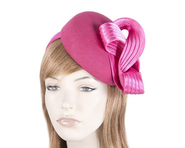 Fuchsia racing fascinator by Fillies Collection Fascinators.com.au