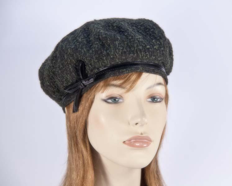Olive beret hats J250O Fascinators.com.au J250 olive1