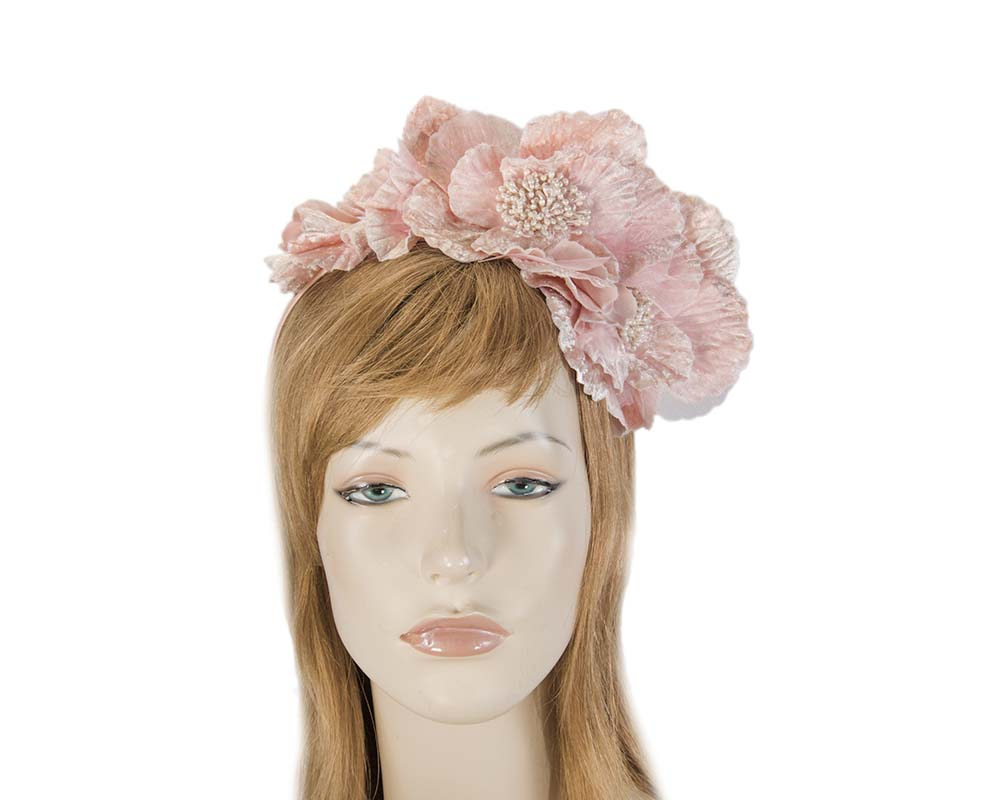 Pink Headband Fascinator Fascinators.com.au J327 pink