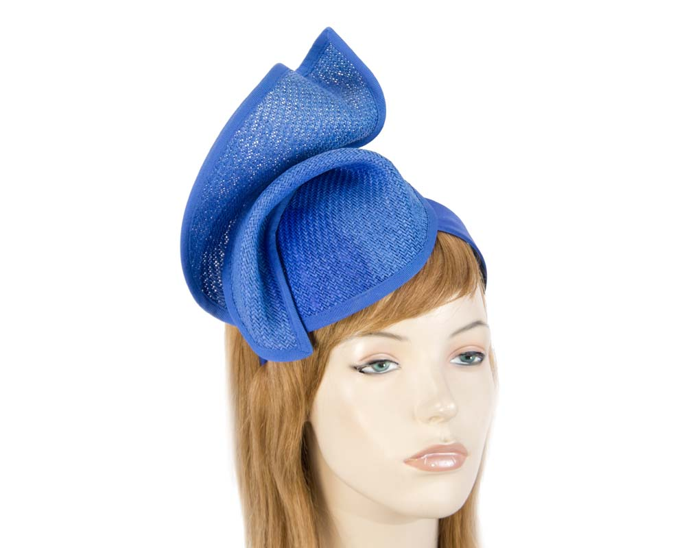 Royal Blue fascinator MA564RB Fascinators.com.au