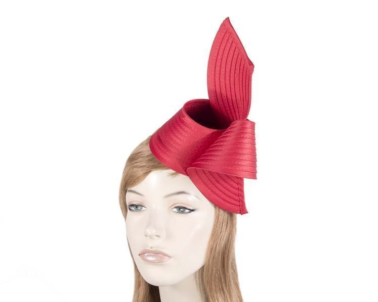 Red fascinator MA614R Fascinators.com.au