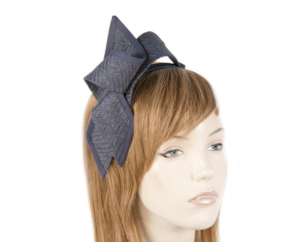 Navy loops fascinator Fascinators.com.au