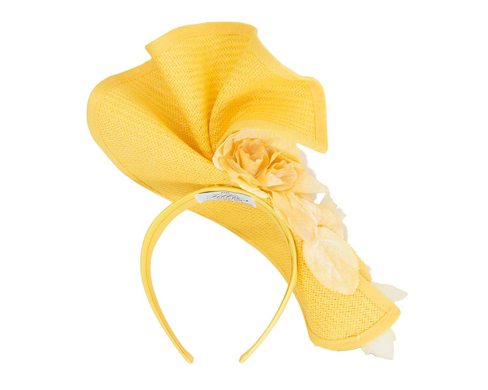 Yellow Fillies Collection fascinator Fascinators.com.au